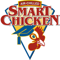 Smart Chicken 100% all-natural chicken, processed using purified cold air instead of adding water.