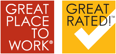 Great Place To Work® Great Rated!™