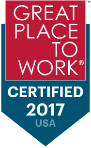 Great Places to Work Certified 2017
