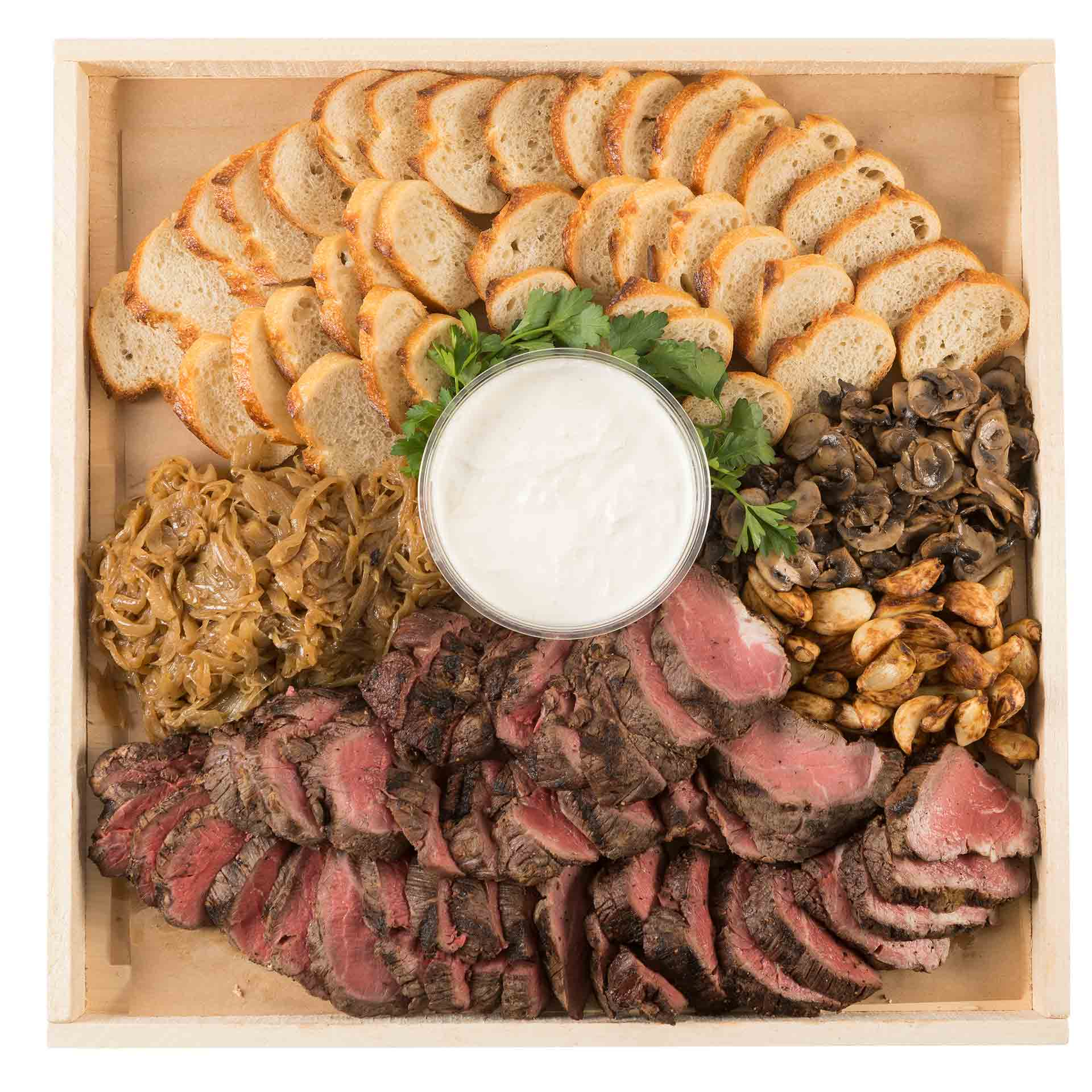 Beef Canapé Platter