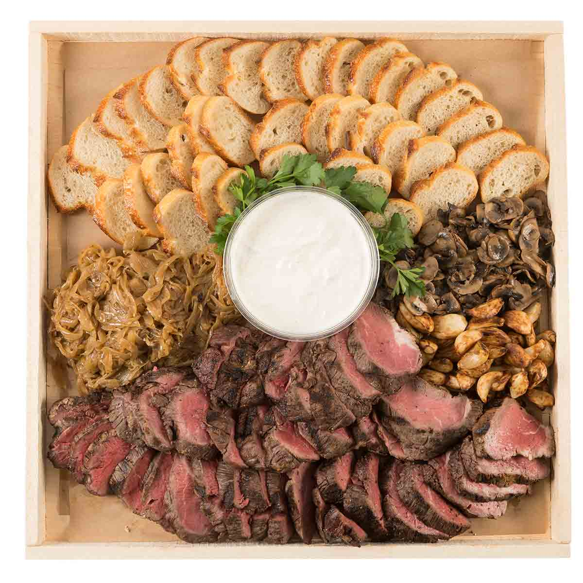 Nugget markets gourmet to go party platters for Canape platters