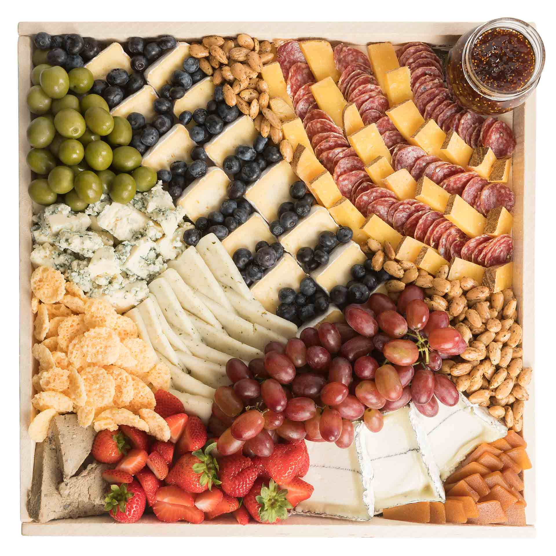 California Favorites Cheese Board