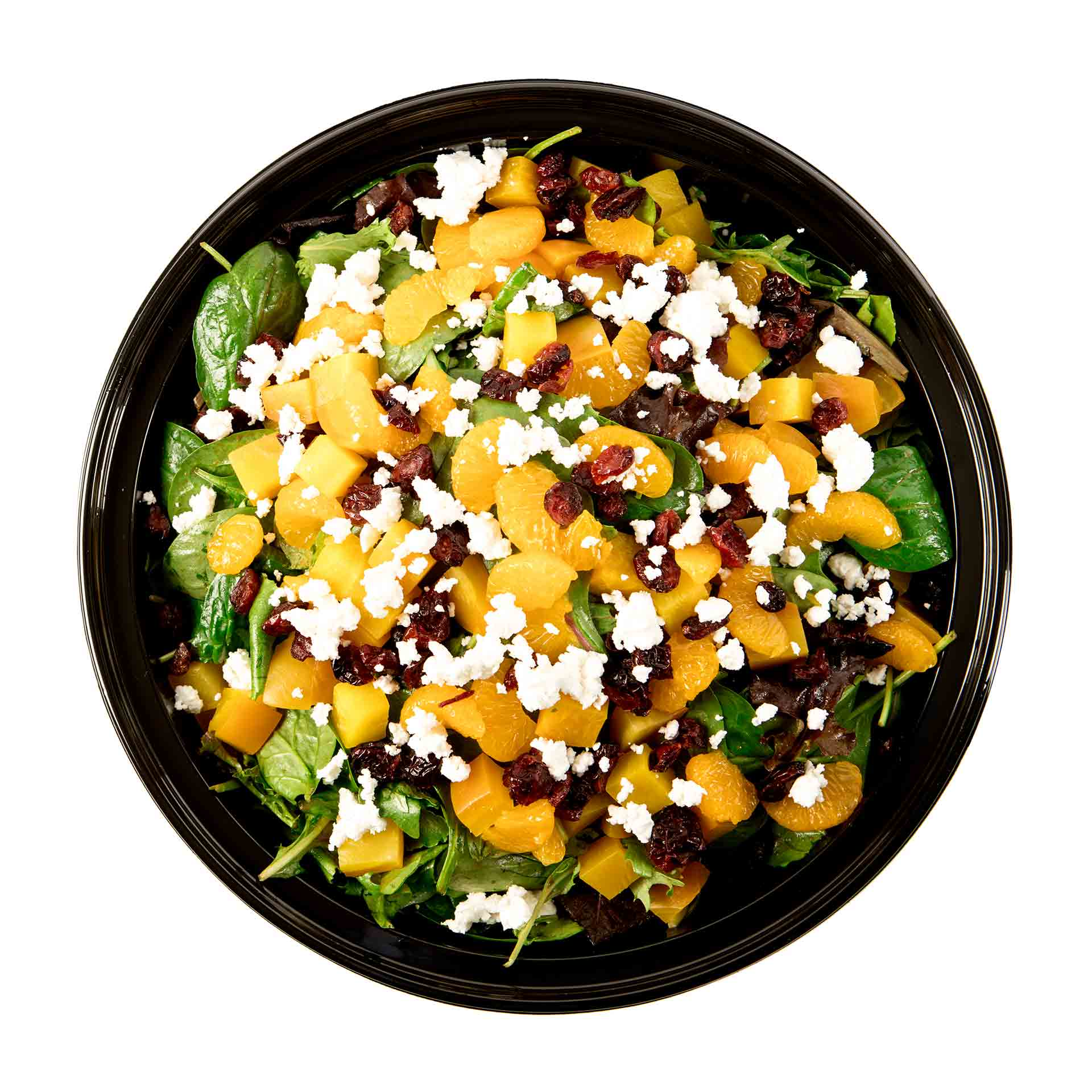 Golden Beet and Goat Cheese Salad