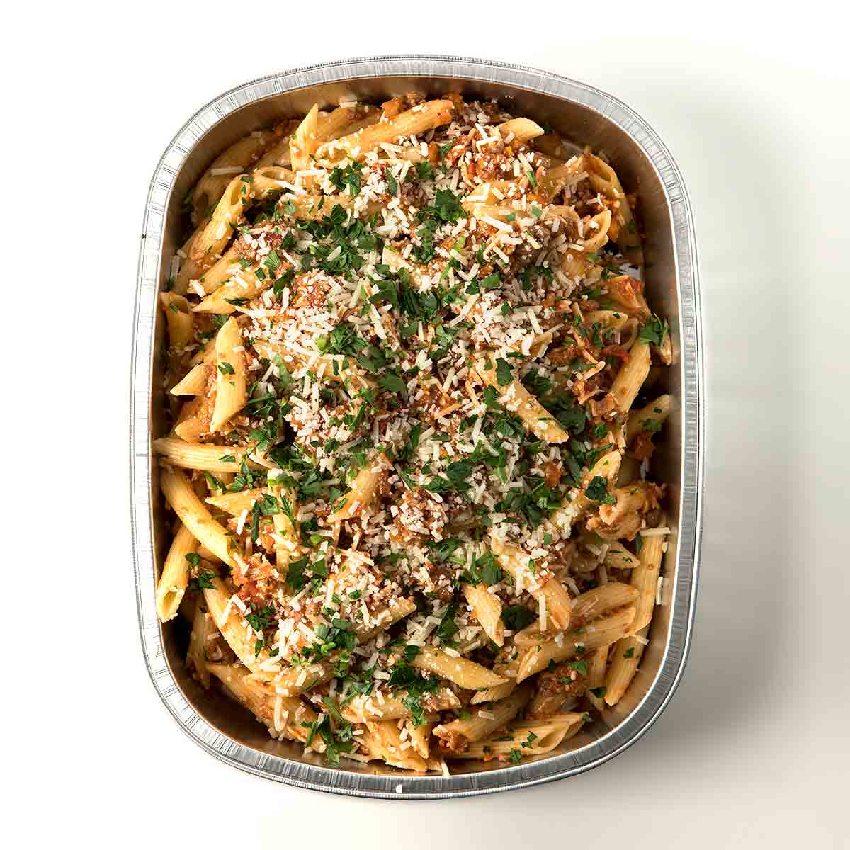 Penne with Bolognese Sauce