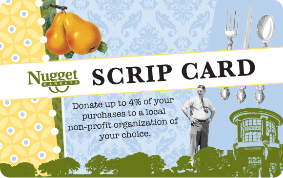 Nugget Markets Scrip card