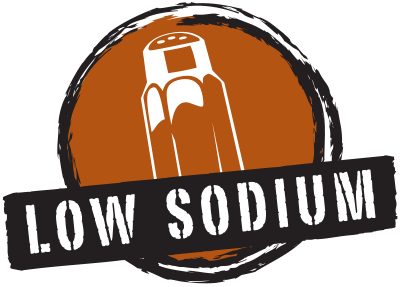 Products marked with our Low Sodium icon meet the FDA standard for low-sodium products, which is 140 milligrams or less of sodium per standard serving.
