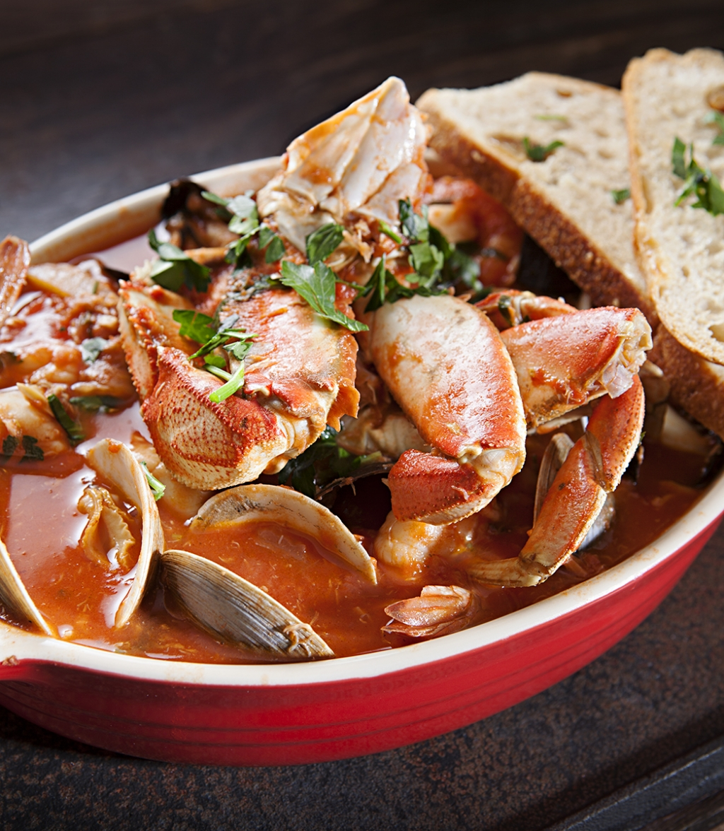 San Francisco Cioppino Nugget Style