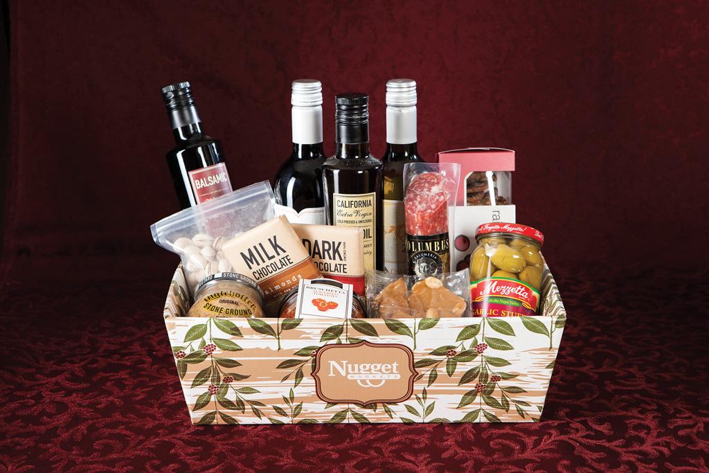 Wine Gift Basket The Wine Basket Includes Salami Crackers Wine Or Sparkling Cider If You Prefer