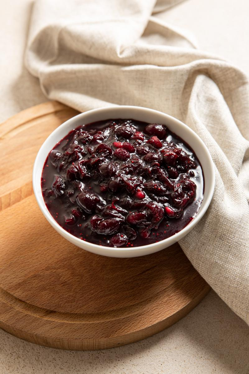 cranberry and pomegranate relish