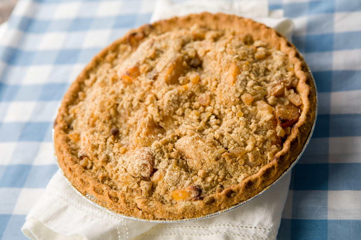 Peach & Ginger Pie