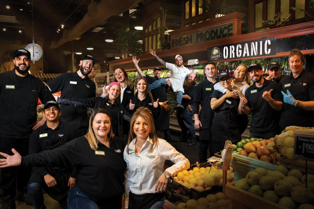 el dorado hills store associates group shot
