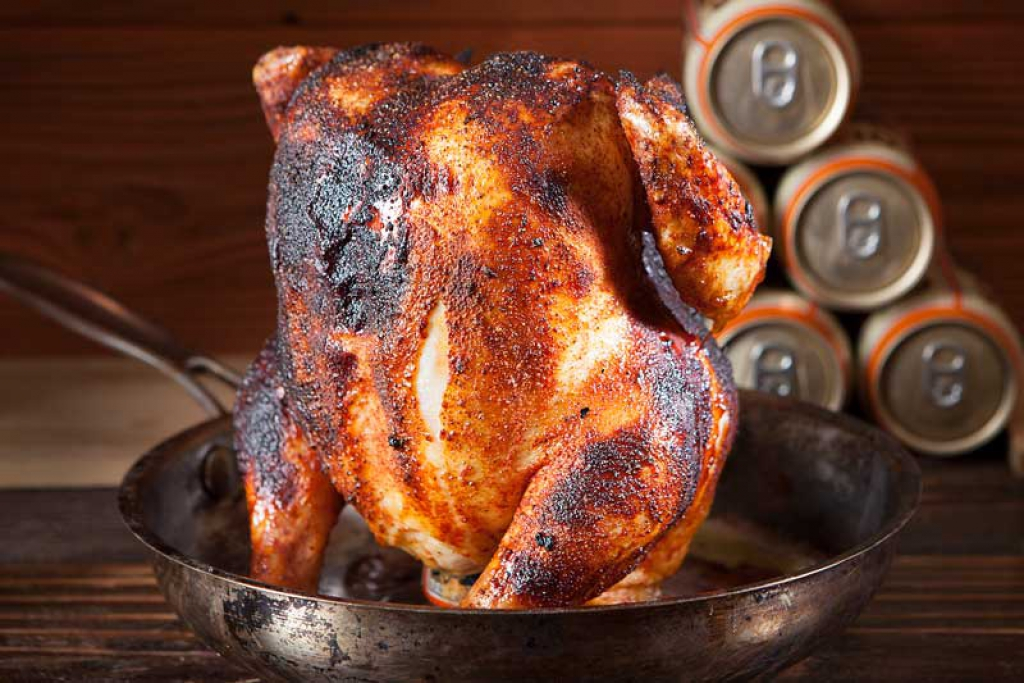 Nugget Markets Beer Can Chicken Recipe