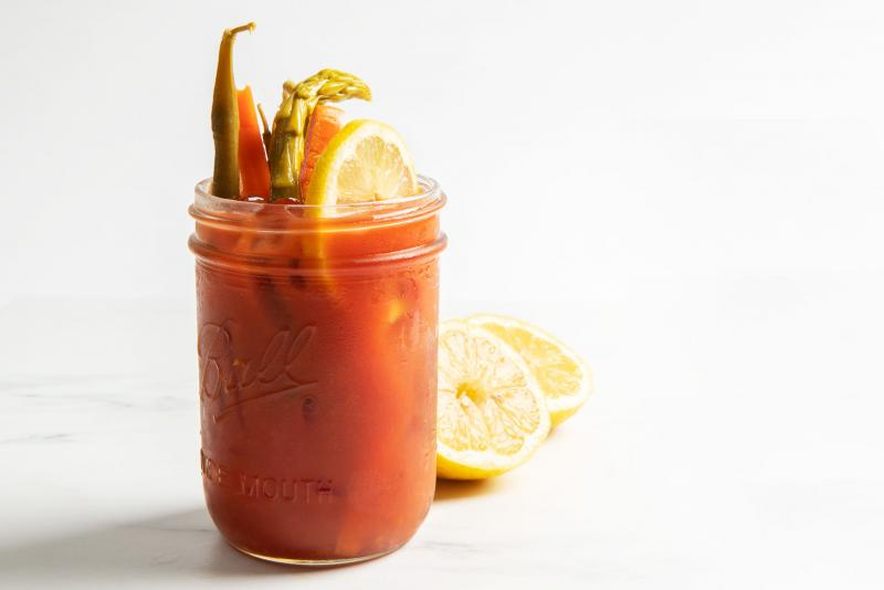 Bacon & Balsamic-Infused Bloody Mary