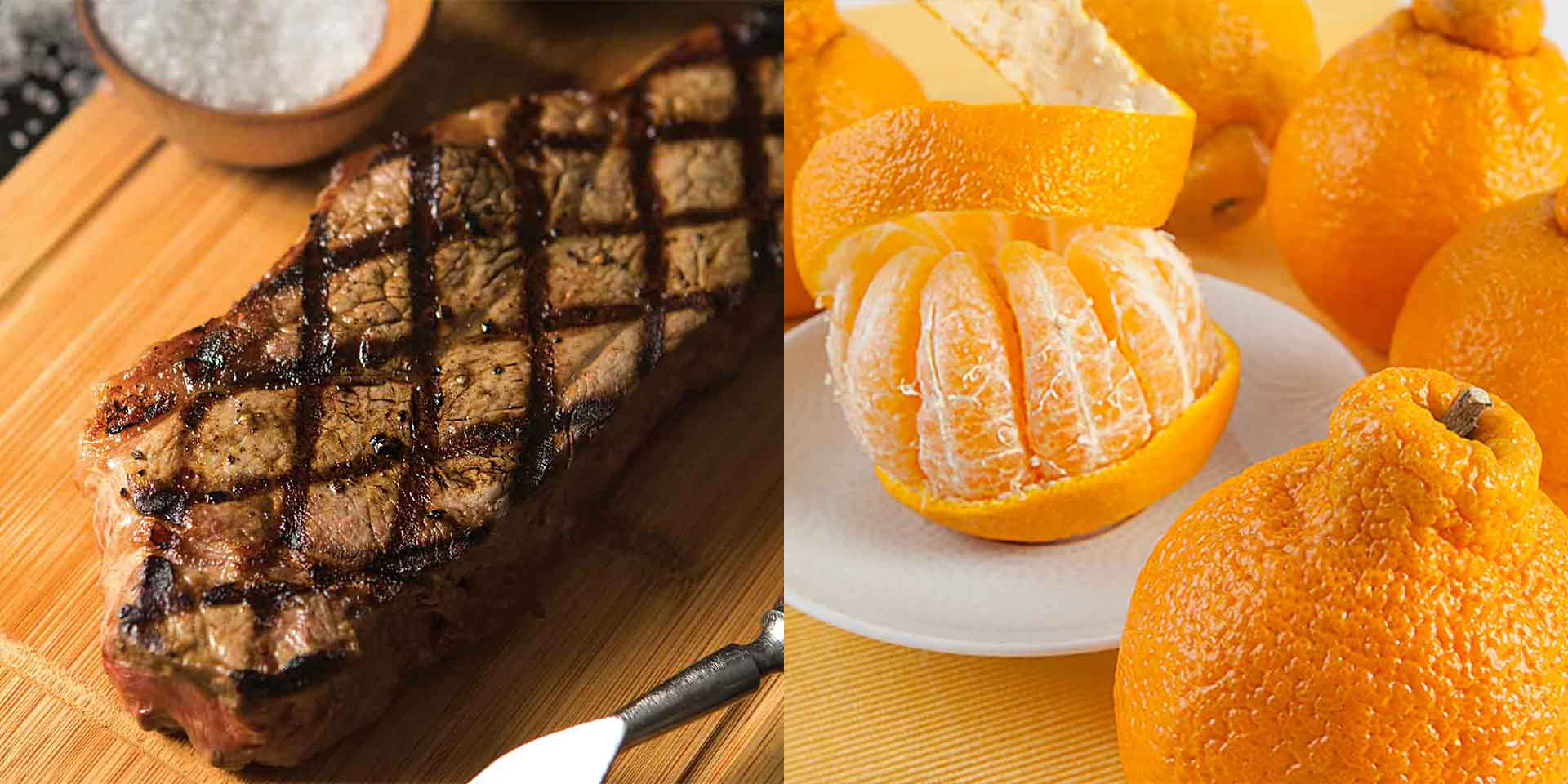New York Steaks and Sumo Citrus