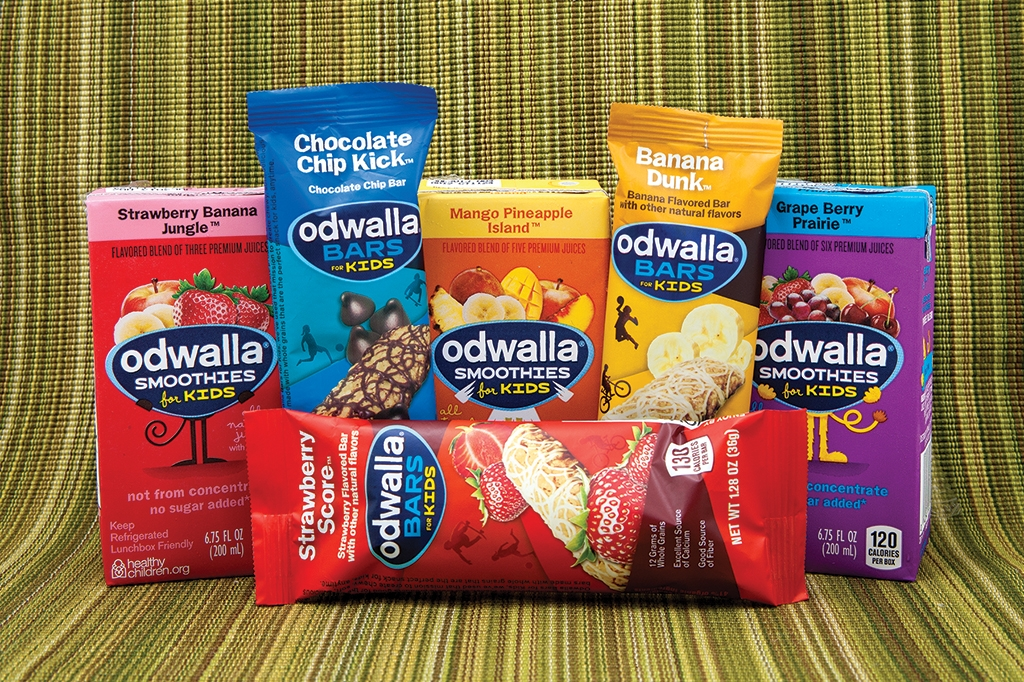 Odwalla bars and smoothies
