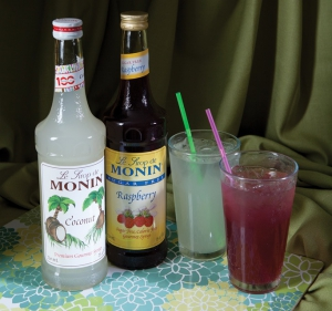 Flavored Lemonades & Limeades from Our Coffee Bar