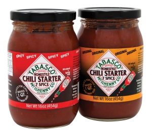 abasco Homestyle Original Chili Starter and Spicy Chili Starter