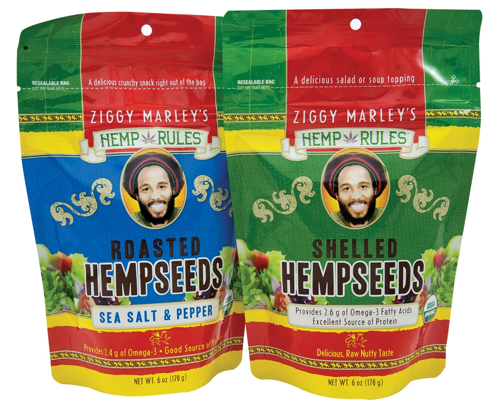 Ziggy Marley Hemp Seeds