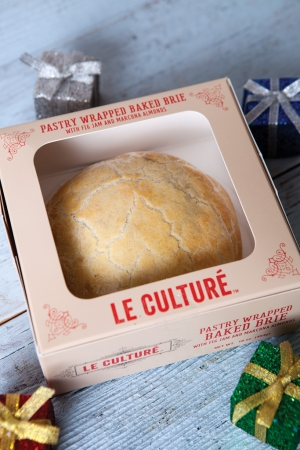 Le Culture Holiday Baked Brie