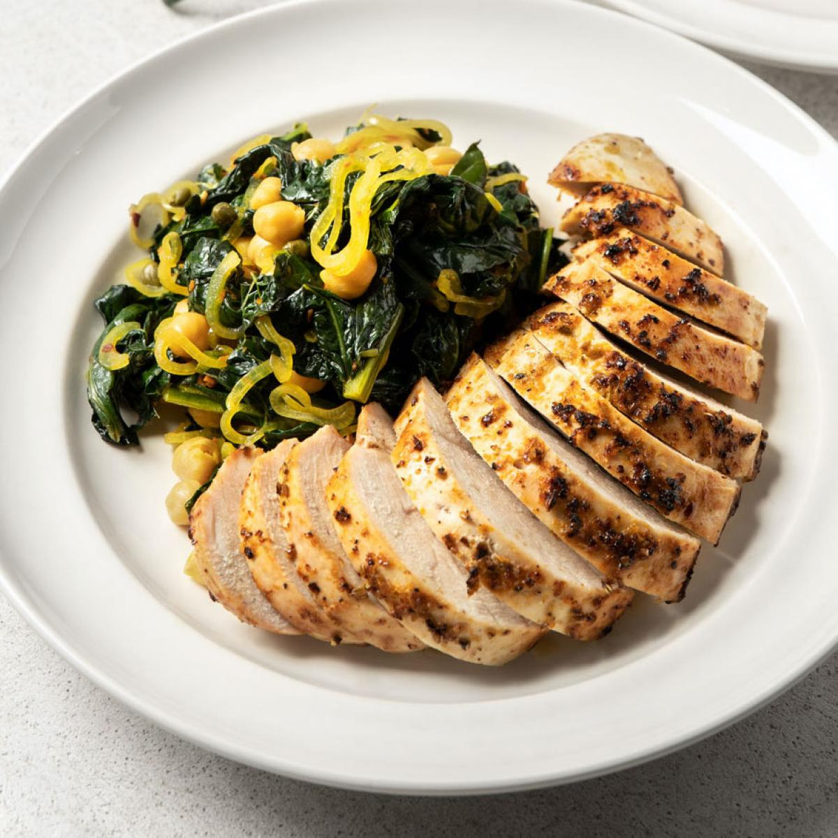 Chicken and kale recipe