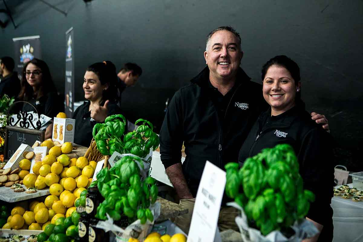 Nugget Markets associates with produce