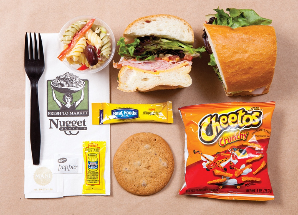 Deluxe Lunchbox (one BYO sandwich, cookie, bag of chips and 3 oz. salad)
