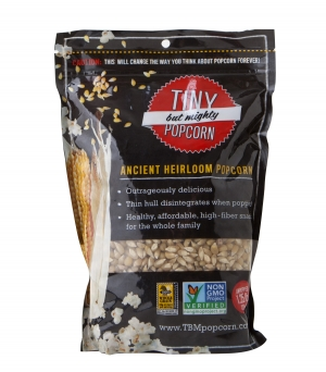 Tiny But Mighty Ancient Heirloom popcorn kernels