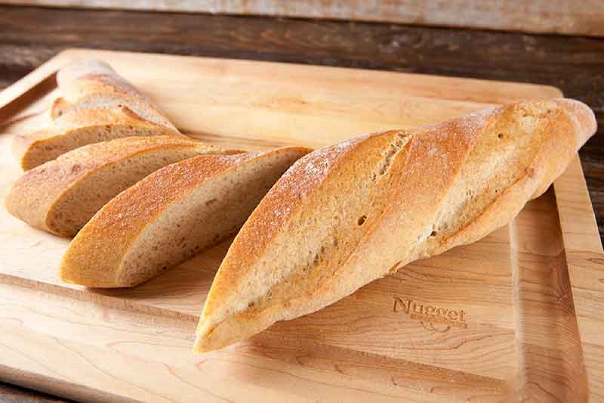 Whole Wheat Baguette Recipe — Dishmaps