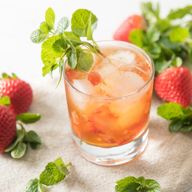 Ginger Berry Mojito