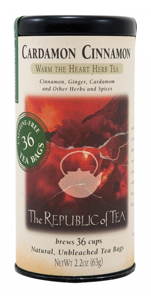 Herbal Just plain delicious and caffeine free, try Cardamon Cinnamon Warm the Heart Herb Tea.