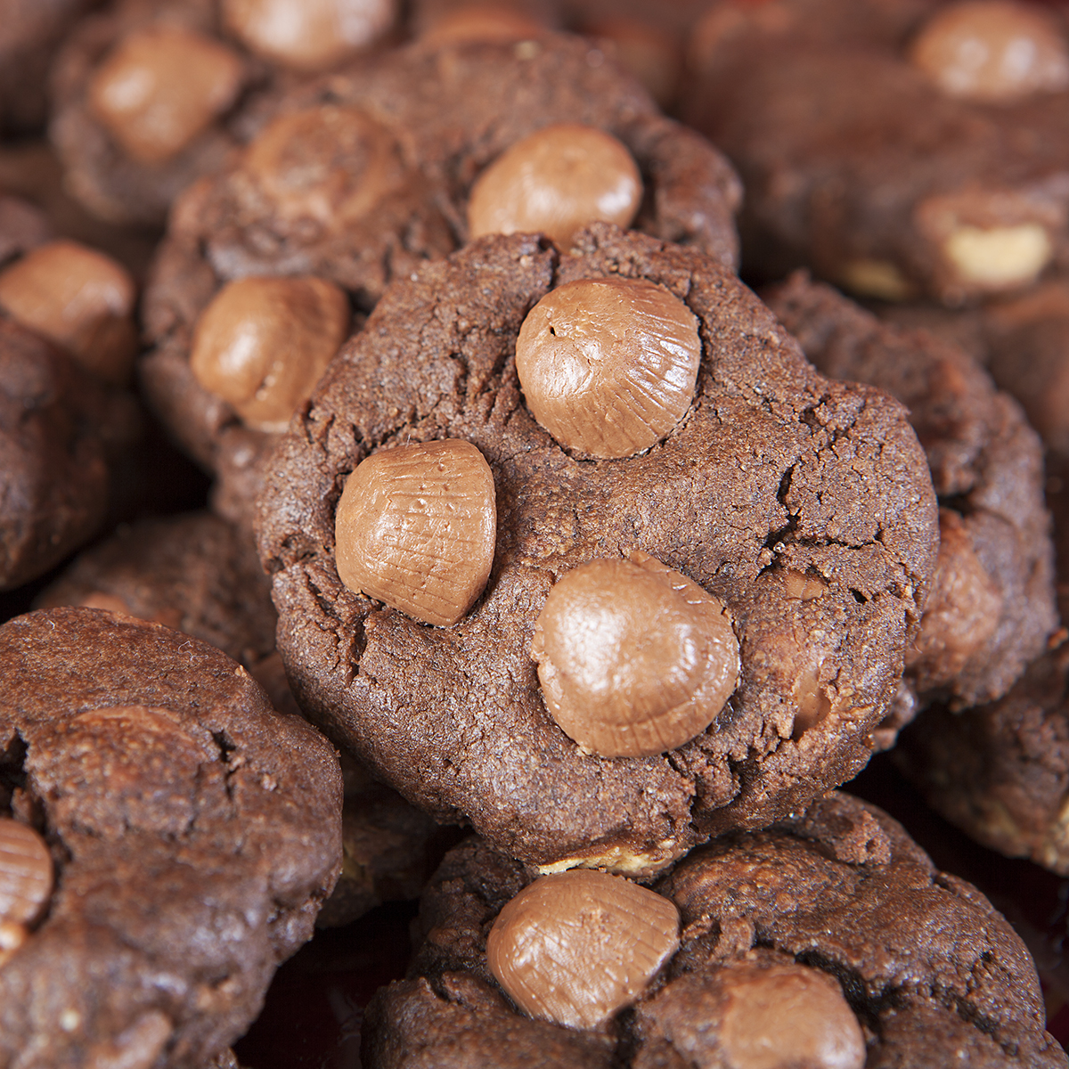 Chocolate Peanut Butter Cup Cookies | Nugget Market Recipes