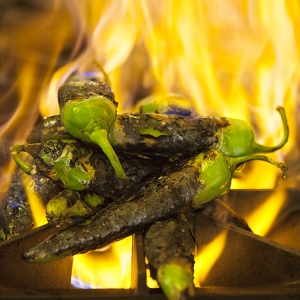 Charring Hatch Chilis