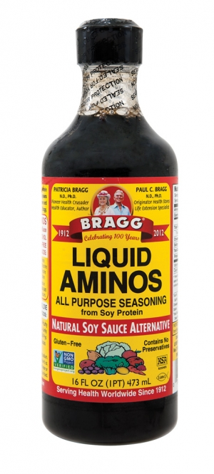 Use this: Liquid Aminos  For that: Soy sauce