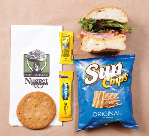 Brown Bag (half a BYO sandwich, cookie and chips)