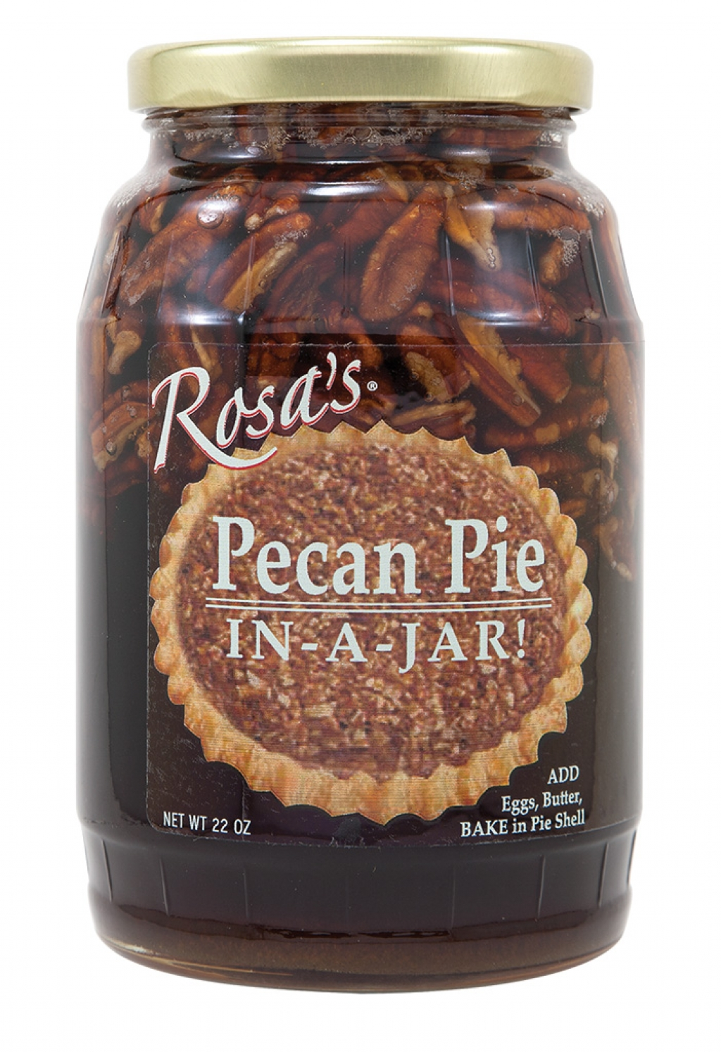 Rosa's Pecan Pie In–a–Jar