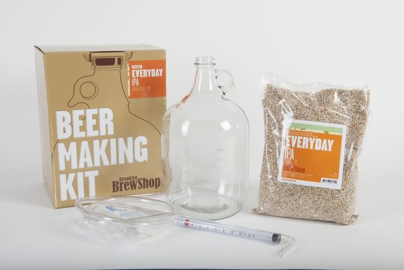 Brooklyn brew shop beer making kit nugget markets daily dish