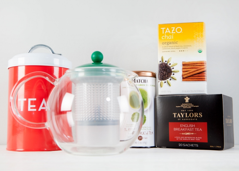 Enjoy tea time with a variety of teas and tea gadgets.