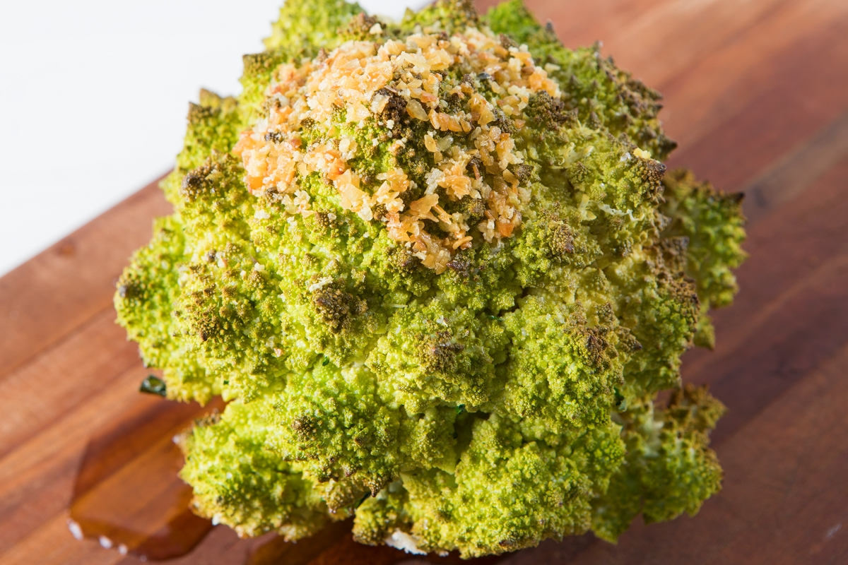 Whole Roasted Romanesco