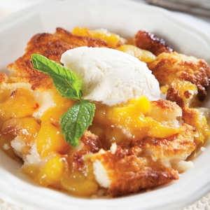 """Just Peachy"" Peach Cobbler"