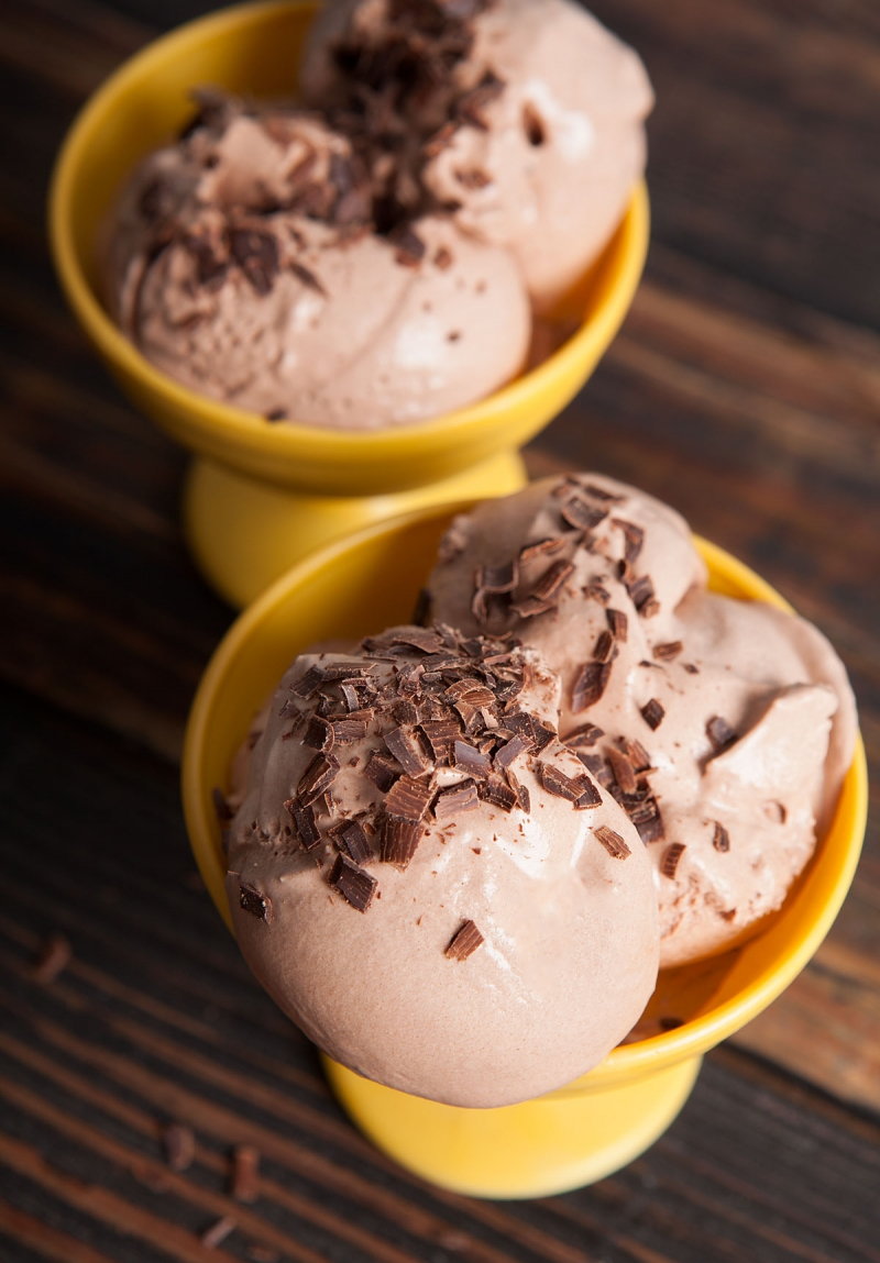Nugget Markets No Churn Chocolate Almond Ice Cream Recipe