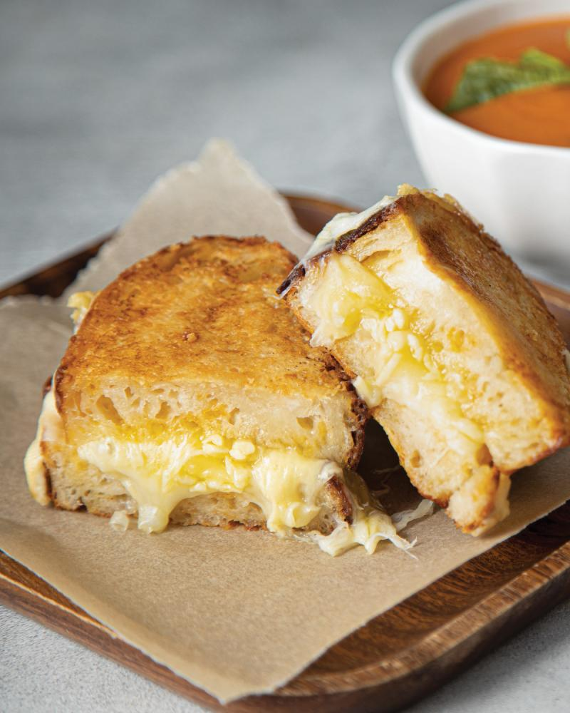 the 4x4 grilled cheese sandwich