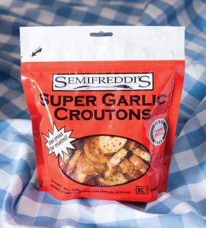 Super Garlic Croutons