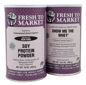 Fresh to Market Soy and Whey Protein