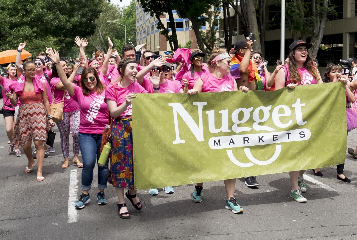 Nugget Associates in the parade
