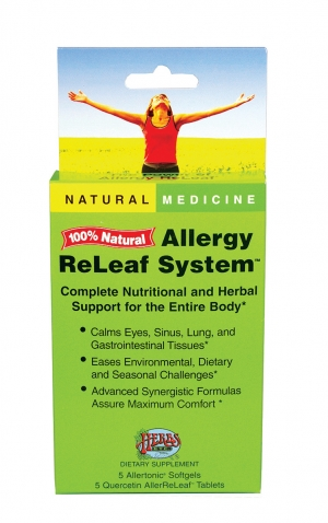 Allergy ReLeaf System from Herbs, Etc.