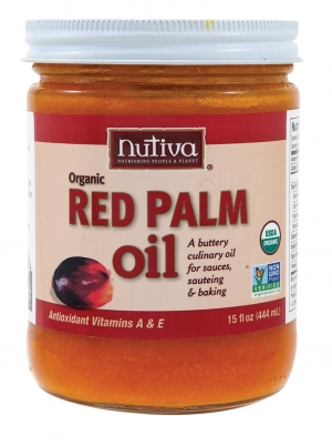 Nutiva's Organic Red Palm Oil