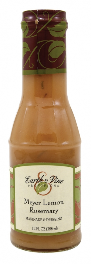 Earth & Vine Provisions' Meyer Lemon Rosemary Dressing