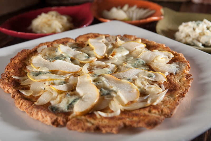 Nugget Markets Gluten-Free Pizza with Local Toppings Recipe