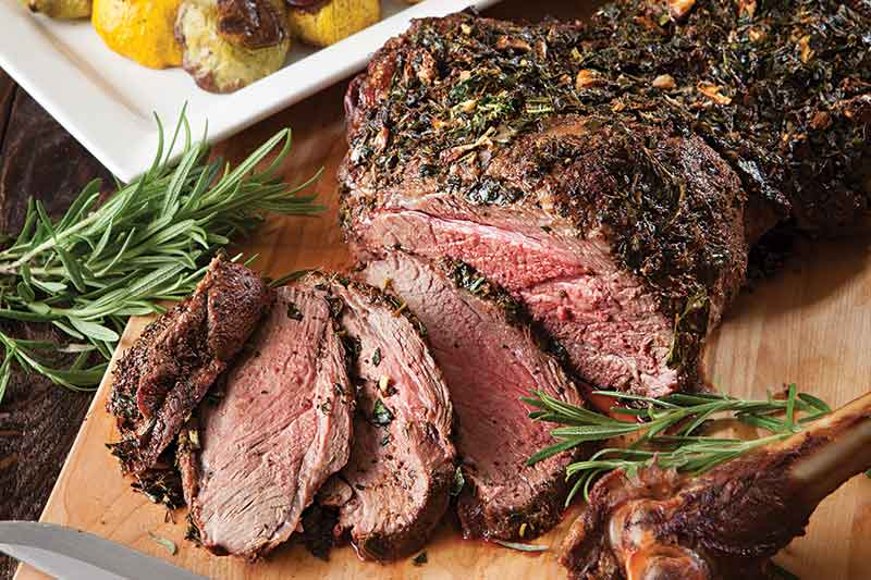 Barbecued Herb Lamb