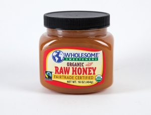 Wholesome Sweeteners Fair Trade Organic Raw Honey